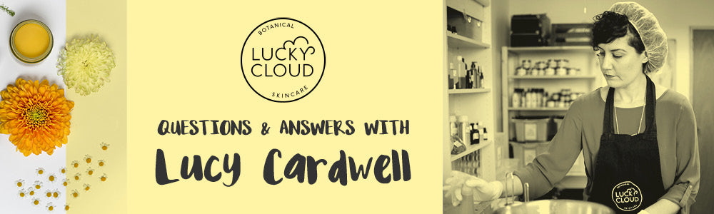 Q&A with Lucy Cardwell, founder of Lucky Cloud Skincare | Shop online at Roo's Beach UK