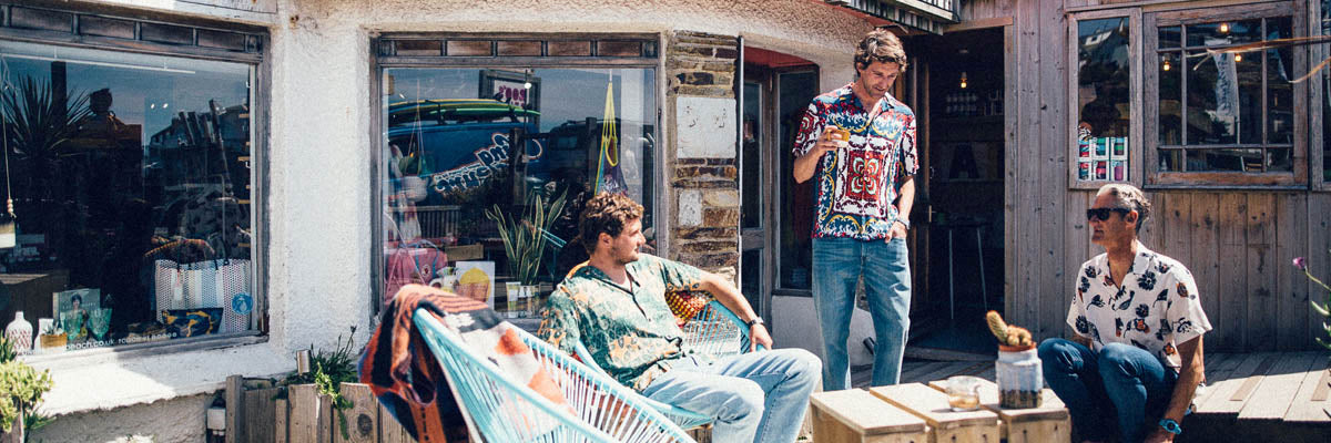 Menswear SS19 with King Surf + escape surf school