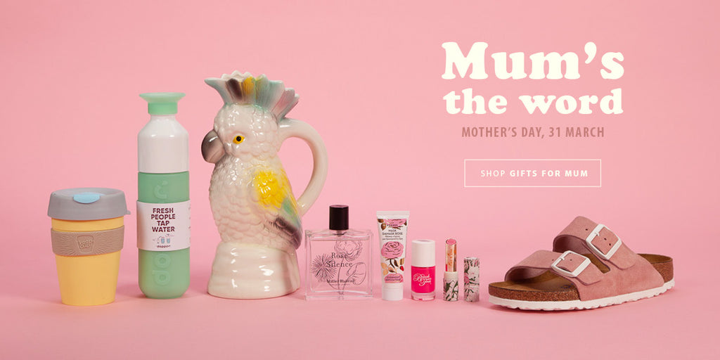 Mum's the word: Shop Mother's Day gifts