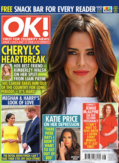 OK! Magazine July 2018 featuring Roo's Beach
