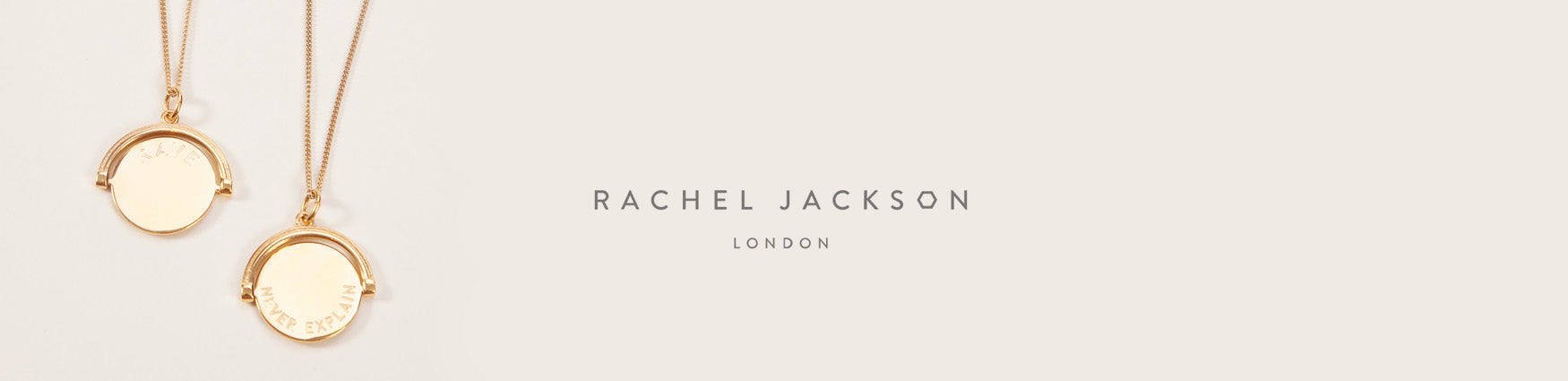 Rachel Jackson London spinning necklaces | Shop from Roo's Beach UK