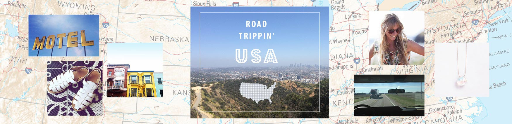 Road Trippin' USA with Shop Manager Becky. Shop her holiday essentials.