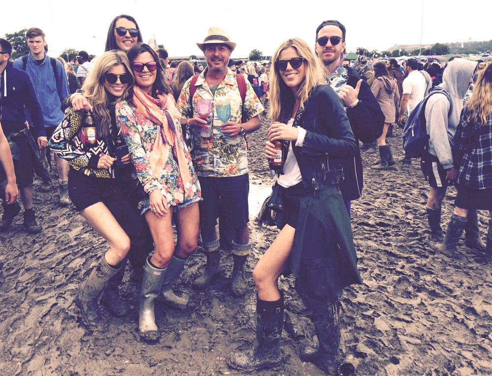 Roo & friends at Glastonbury 2016