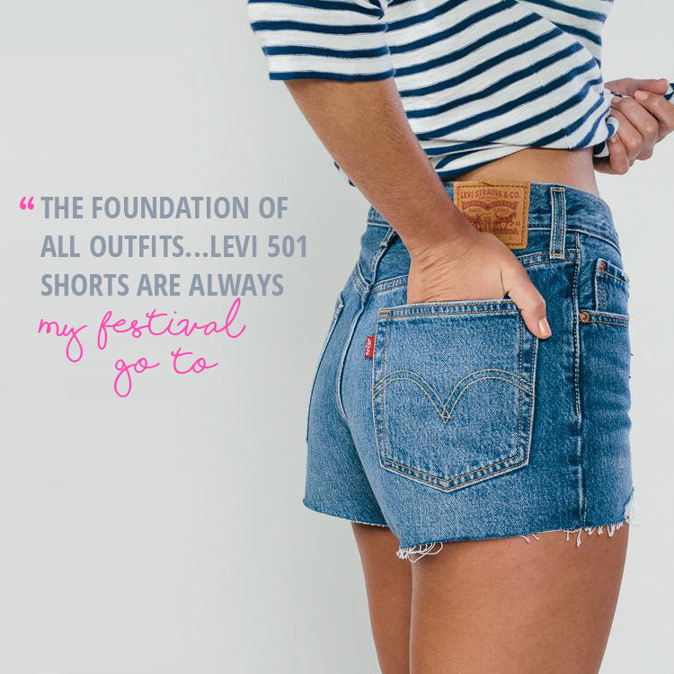 Roo's Festival Fashion Top Tips - denim shorts