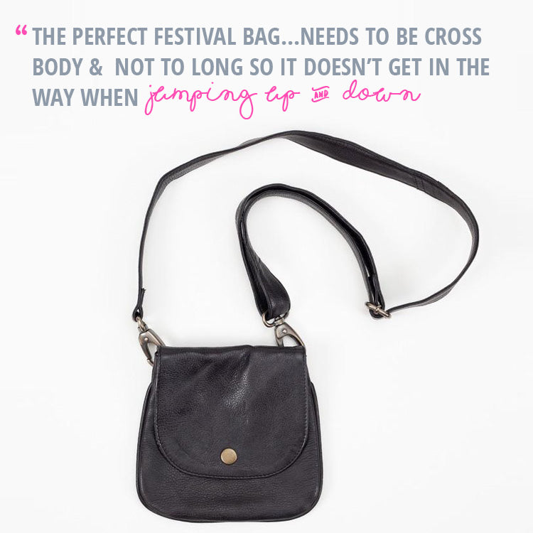 Roo's Festival Fashion Top Tips - picking the perfect bag