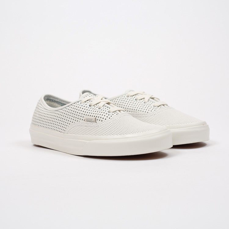 Roo's Beach Perforated White Vans Trainers