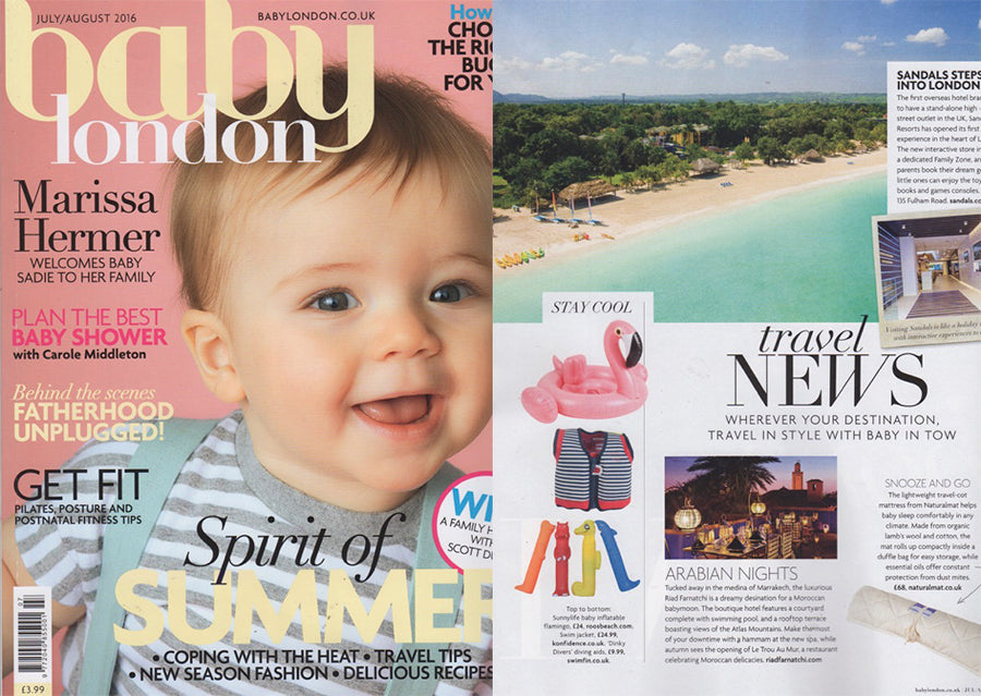 Roos Beach Baby London Press Coverage