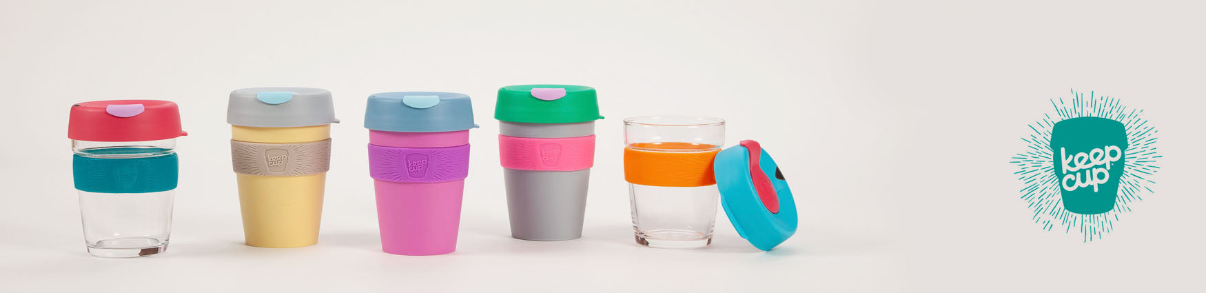 Shop Barista Style reusable coffee cups from Roo's Beach UK