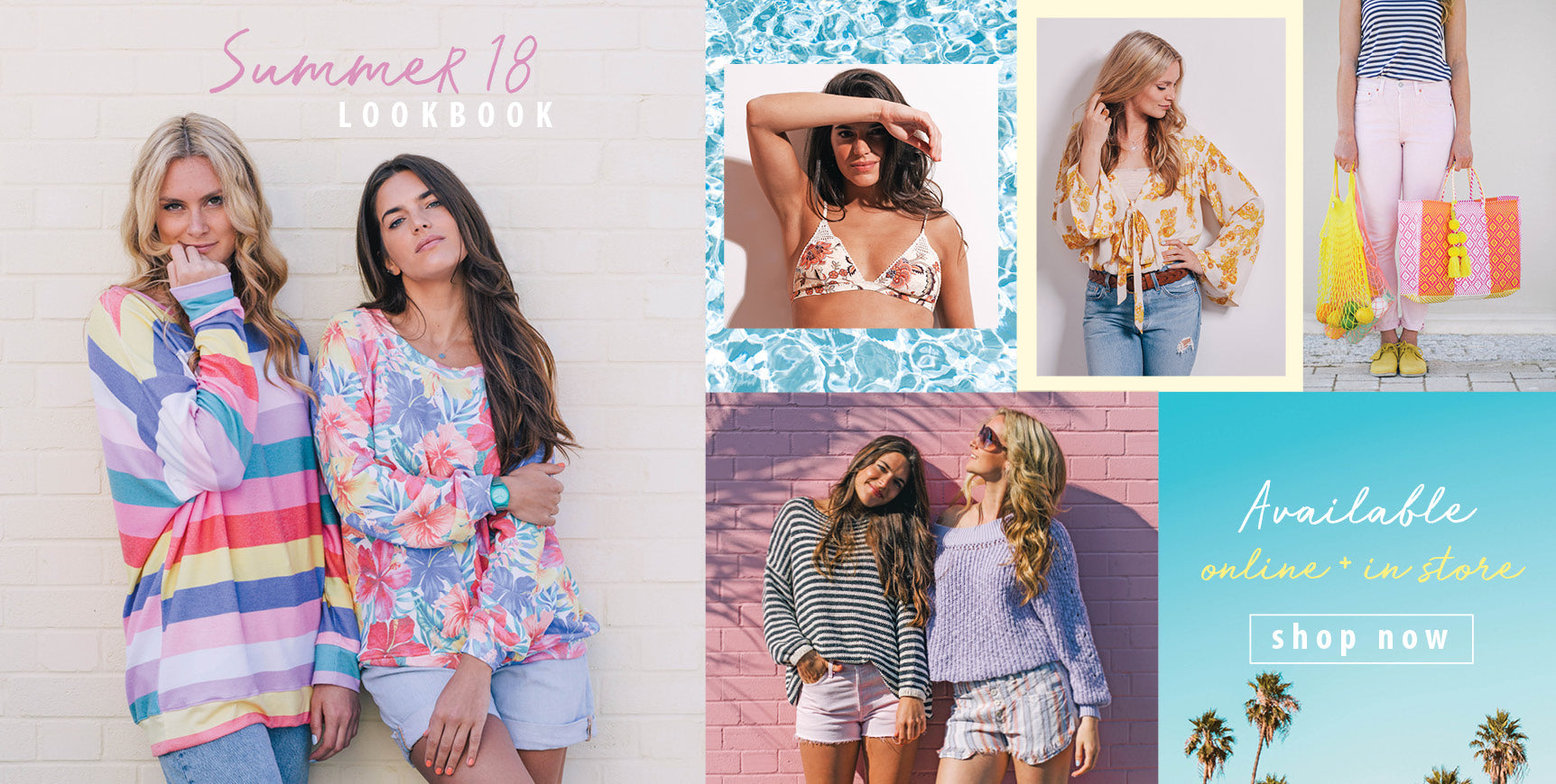 Shop the Roo's Beach Summer 18 Lookbook