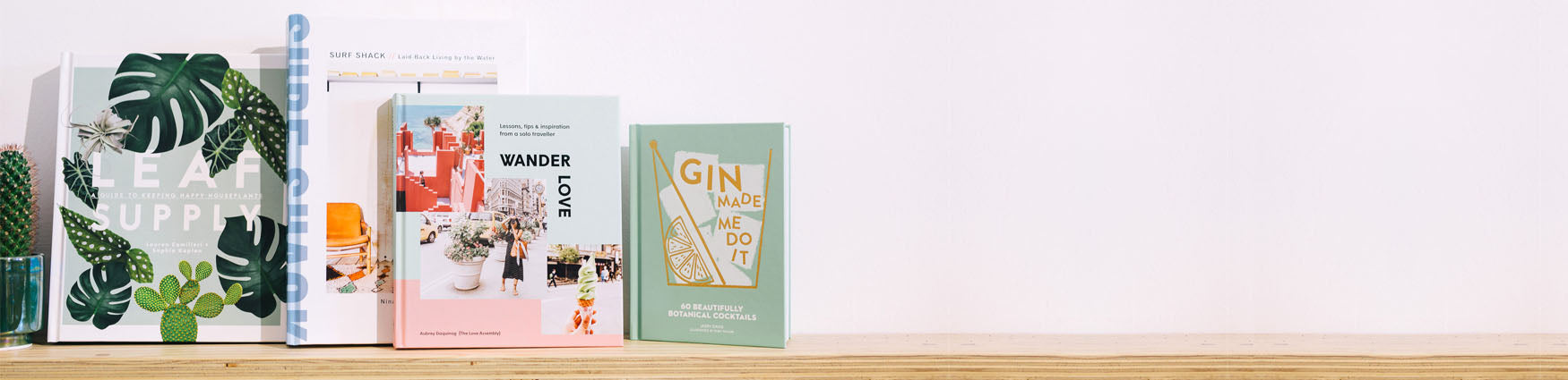 Shop the edit of lifestyle books from Roo's Beach UK