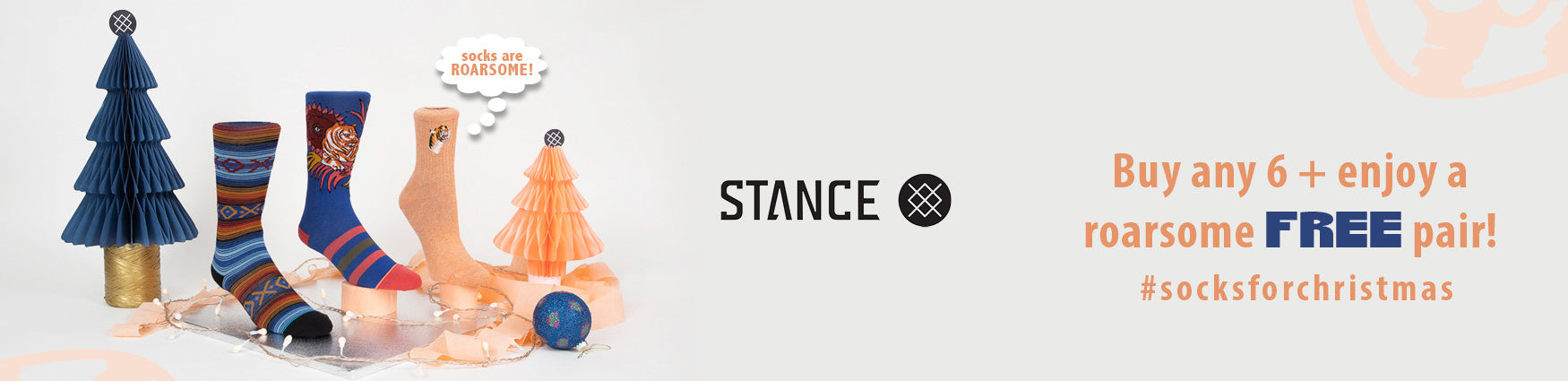 Stance Socks For Christmas | Buy 6 pairs & receive a pair free