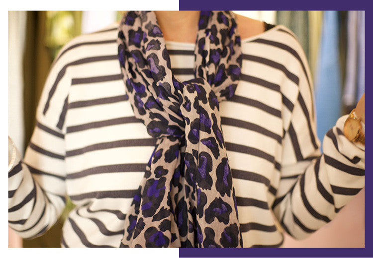 The Do's and Don'ts of wearing a Becksondergaard Leopard Print Scarf