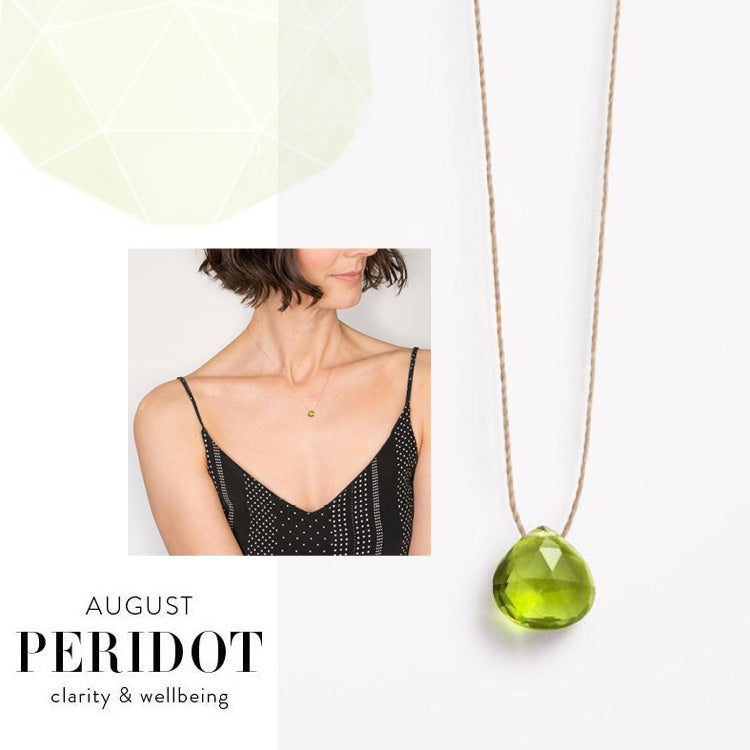 Wanderlust Life August Birthstone Peridot Necklace