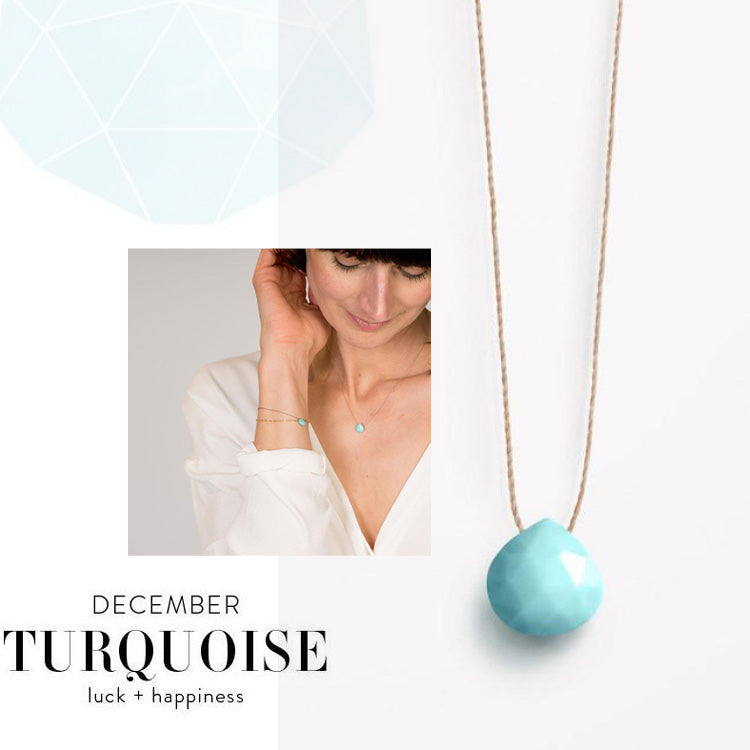 Wanderlust Life December Birthstone Turquoise Necklace