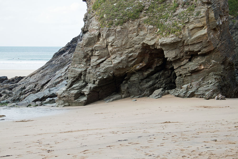 Cliff Face, Newquay