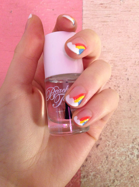 Rainbow Nail Art Tutorial – Step 5