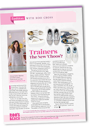 Cornwall Today May 2017 New Choos Fashion Article Roo Cross