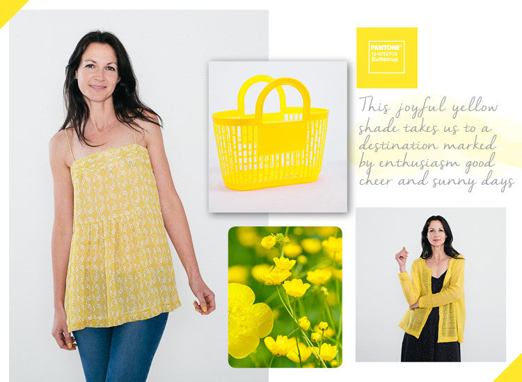 Primrose Yellow Pantone inspiration edit