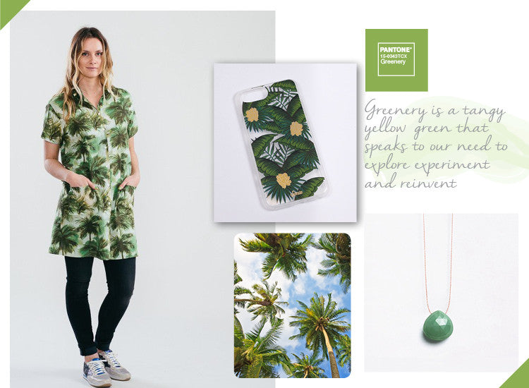 Greenery Pantone inspiration edit