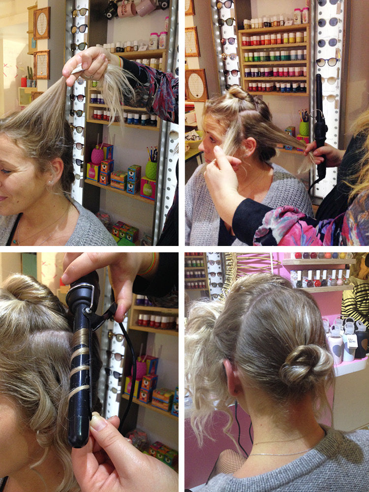 Textured Party Updo Hair DIY with Freelance Hair Stylist Rosanne Abell