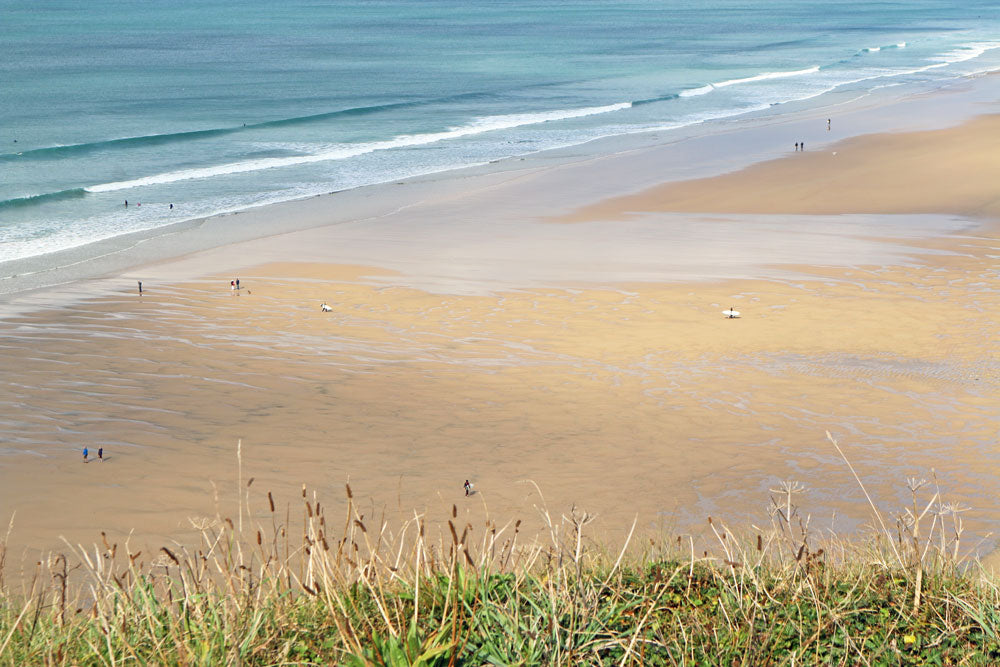 Watergate Bay Beach Cornwall