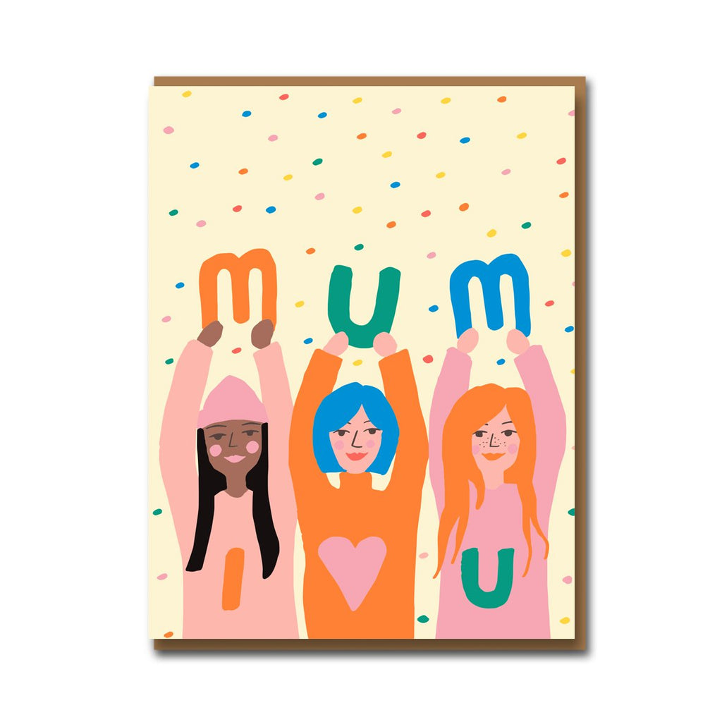 1973 Emma Cooter Mum I Love You Card