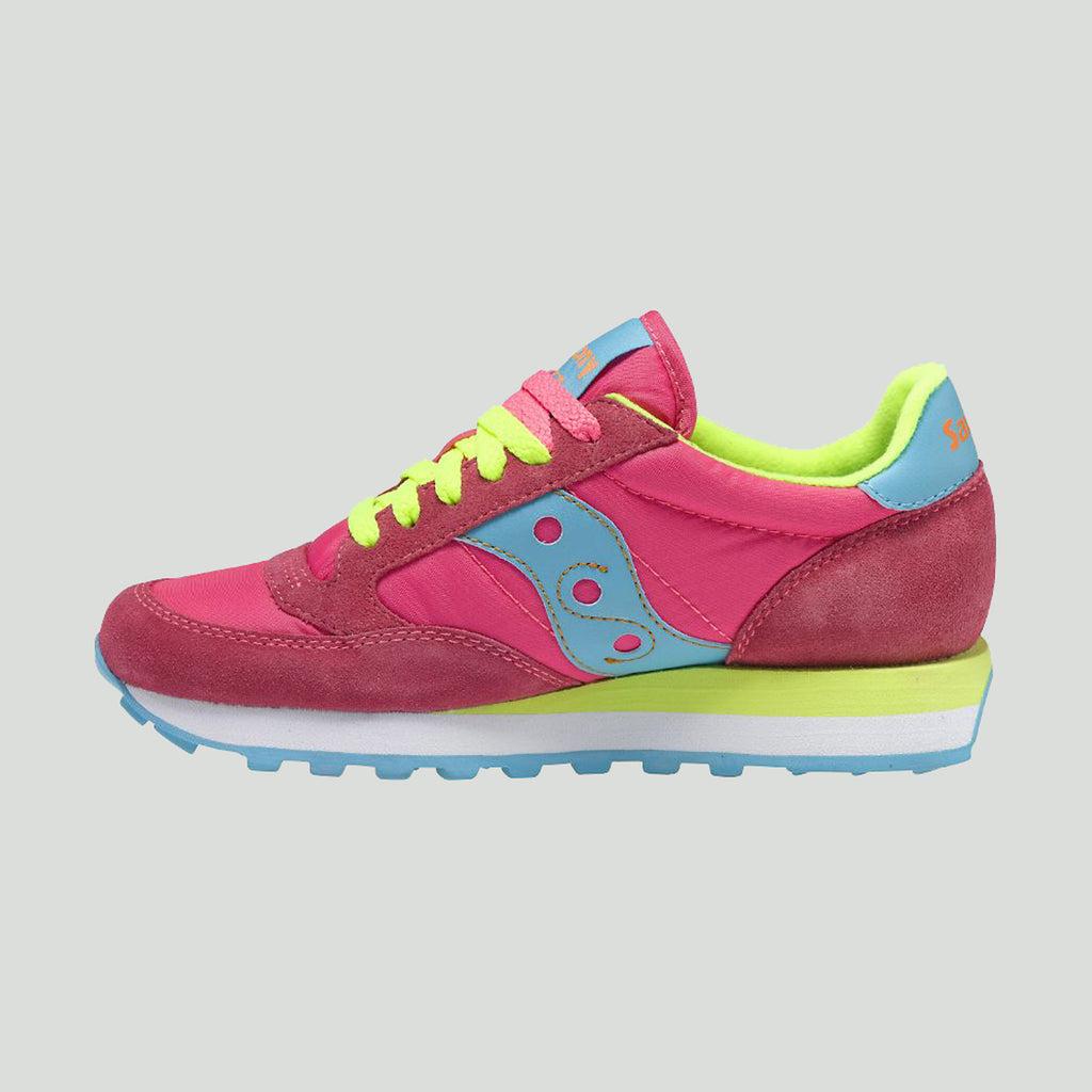 Saucony Jazz Original Pink/Yellow Trainers