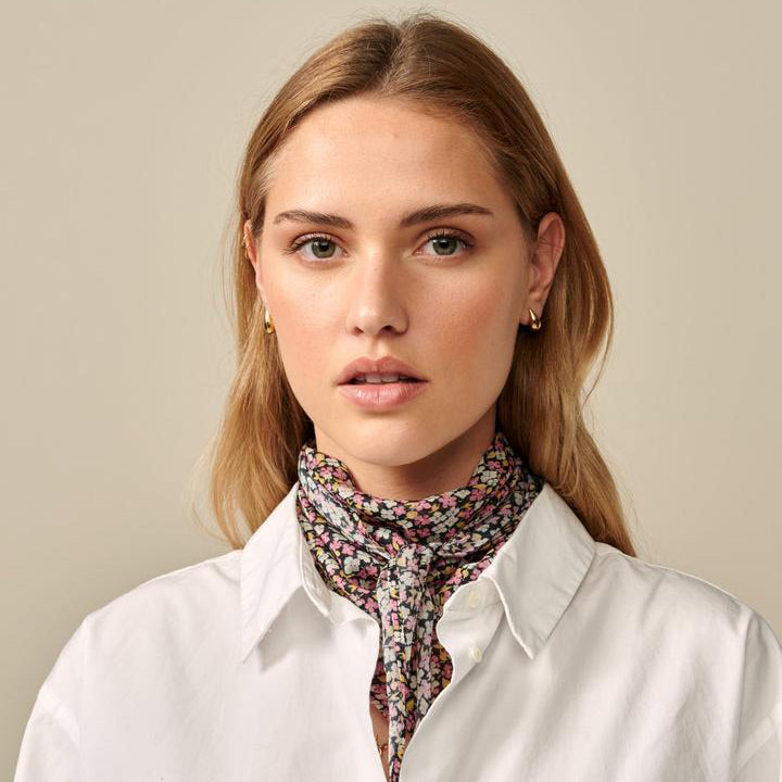 Bellerose Lira Multi Flower Scarf