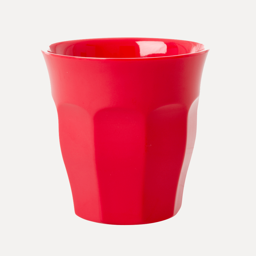 Rice Medium Red Cup