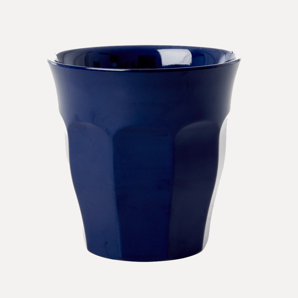 Rice Medium Dark Navy Cup