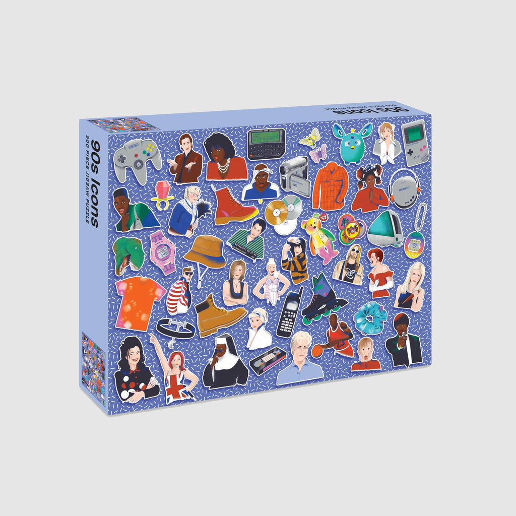 Abrams & Chronicle Books 90s Icons: 500 Piece Jigsaw Puzzle