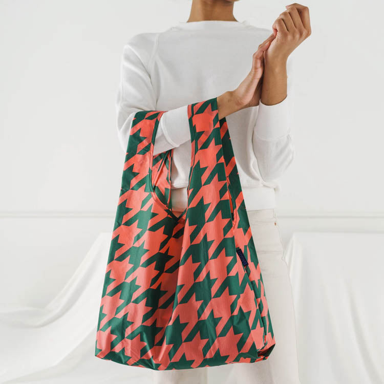 Baggu Big Houndstooth Reusable Bag