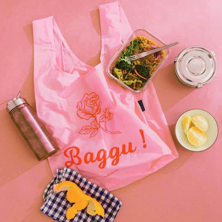 Baggu Thank You Rose Standard Reusable Bag