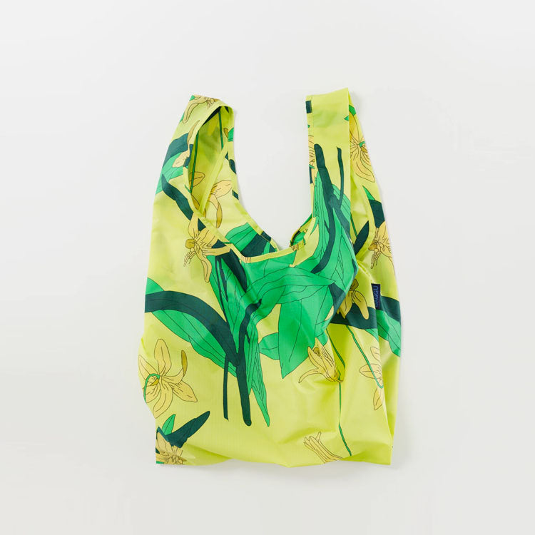 Baggu Yellow Lilly Reusable Bag