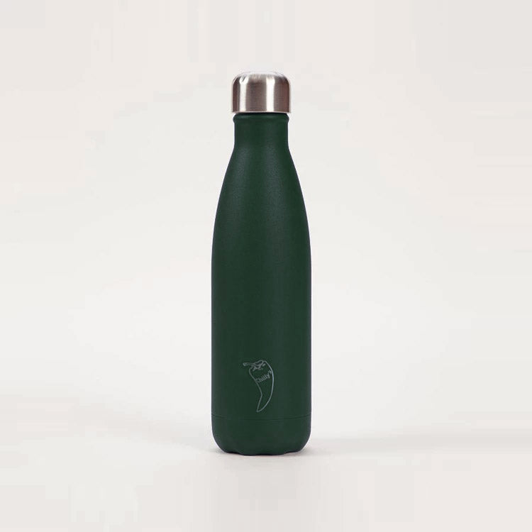 CHILLY'S Matte Green Bottle 500ml