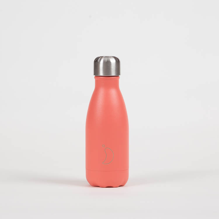 Chilly's Pastel Coral Drinking Bottle 260ml