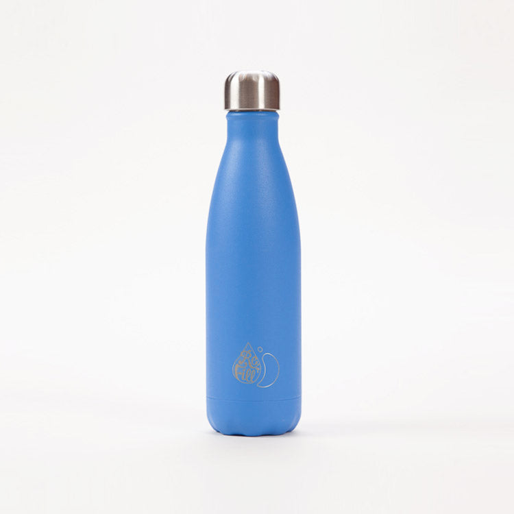 Product shot: Chilly's x Refill Blue Drinking Bottle 500ml