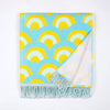 Roo's Beach Ebb & Flow Fringed Beach Towel