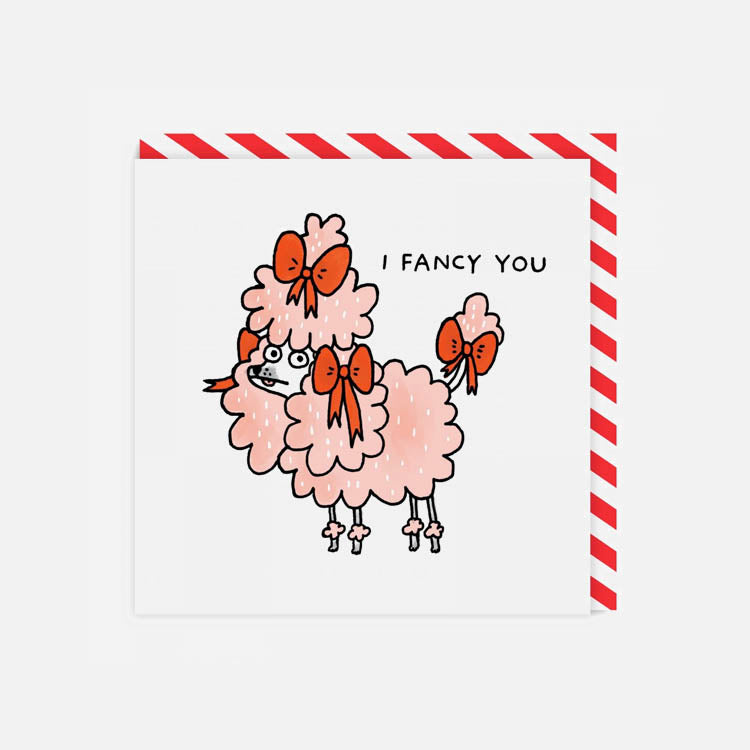Gemma Correll I Fancy You Greetings Card