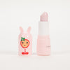 Product shot: INUWET Christmas Bunny Candy Cane Lip Balm