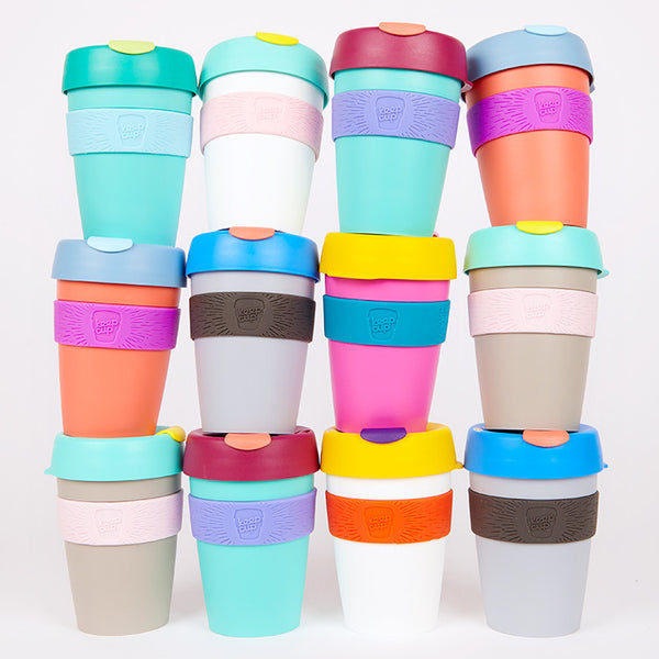 KeepCup Reusable Travel Cup 340ml - Available from Roo's Beach UK