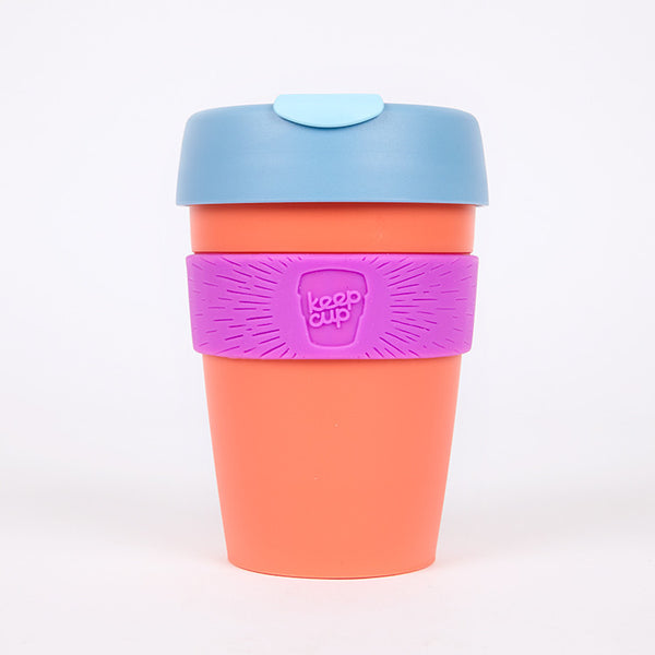 KeepCup Reusable Travel Cup 340ml Apricot - Available from Roo's Beach UK