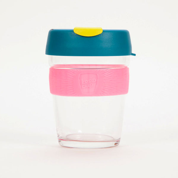 KeepCup Brew Atom Glass Reusable 12oz / 340ml Cup