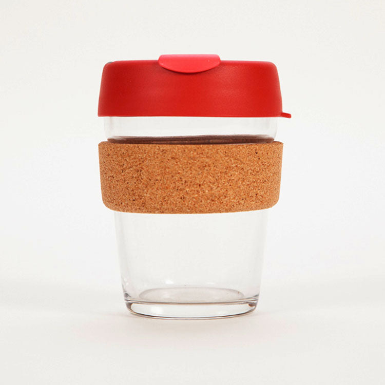 Product shot: KeepCup Brew Cork Edition Thermal 12oz / 340ml Cup