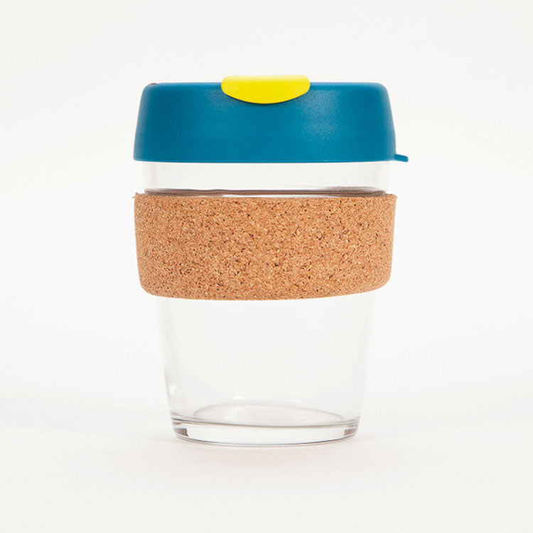 Product shot: KeepCup Brew Cork Edition Turbine 12oz / 340ml Cup