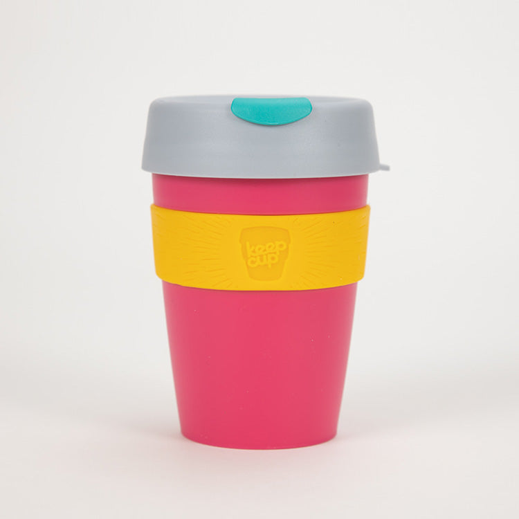 KeepCup Punk Pink Ice Mint Reusable Travel Cup 340ml