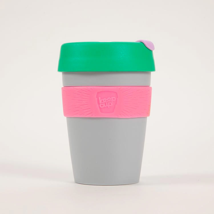 Product shot: KeepCup Sonic Reusable Travel Cup 340ml