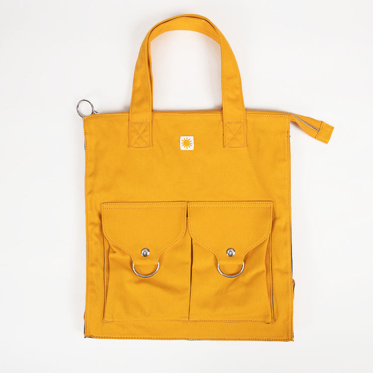 L.F. Markey Yellow Super Shopper - front view