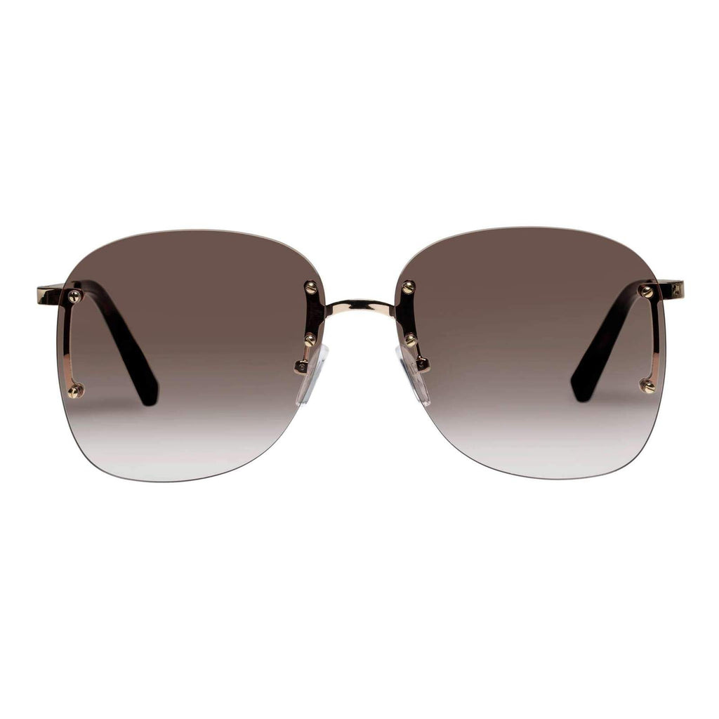 Le Specs Skyline Gold Sunglasses