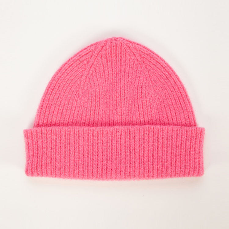 Le Bonnet Bubble Gum Pink Beanie Hat